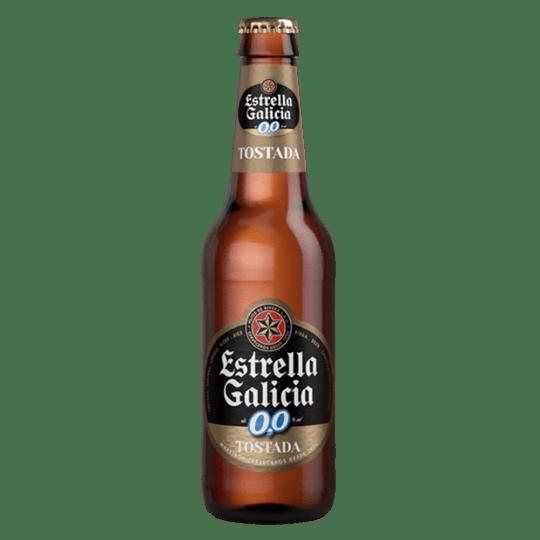 cerveza estrella galicia 00 tostada en Lugo