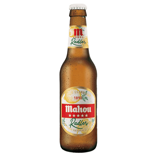 cerveza mahou radler en Lugo