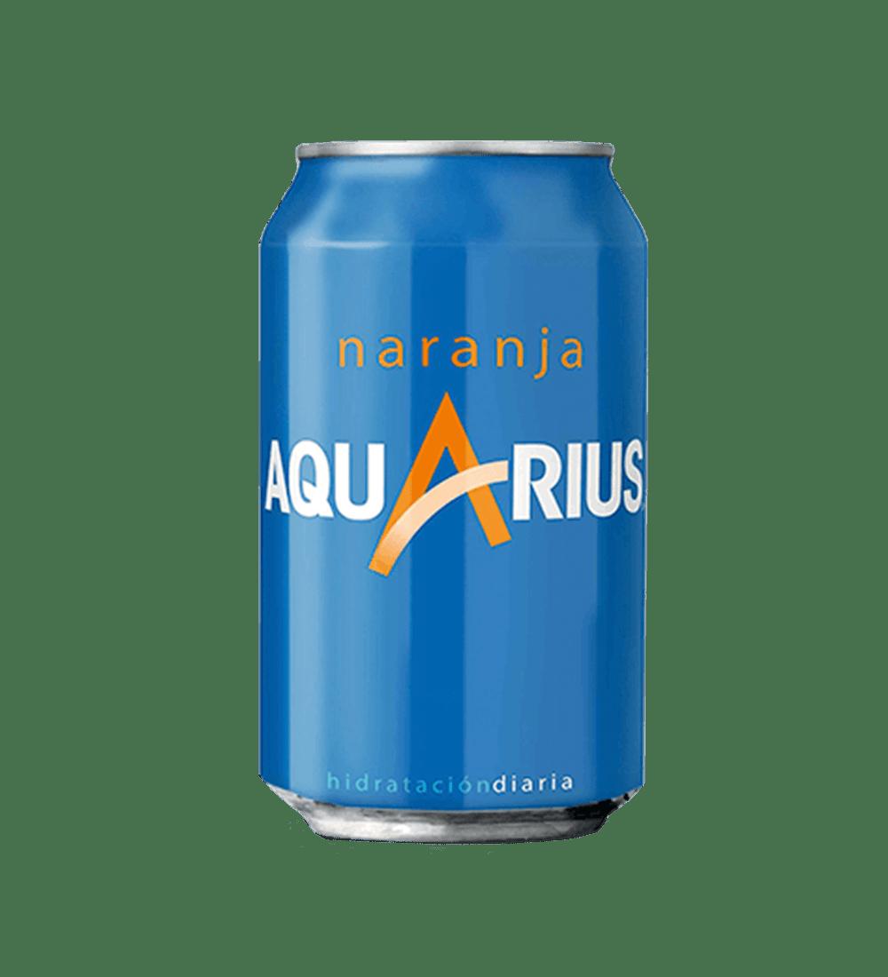 aquarius de naranja en Lugo