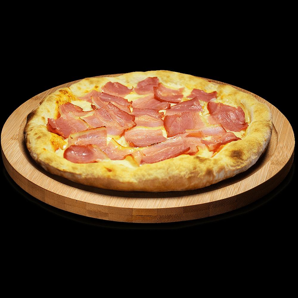 Pizza de Bacon en Lugo