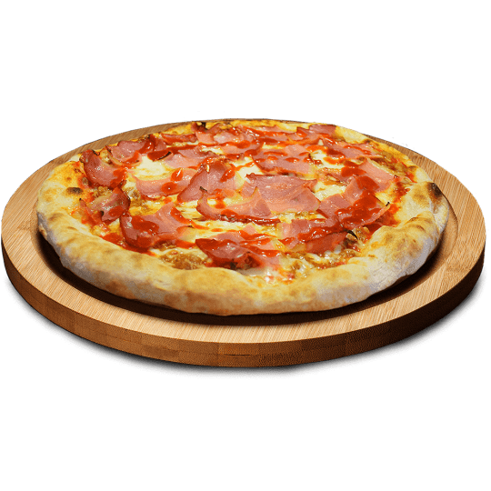 Pizza Barbacoa en Lugo