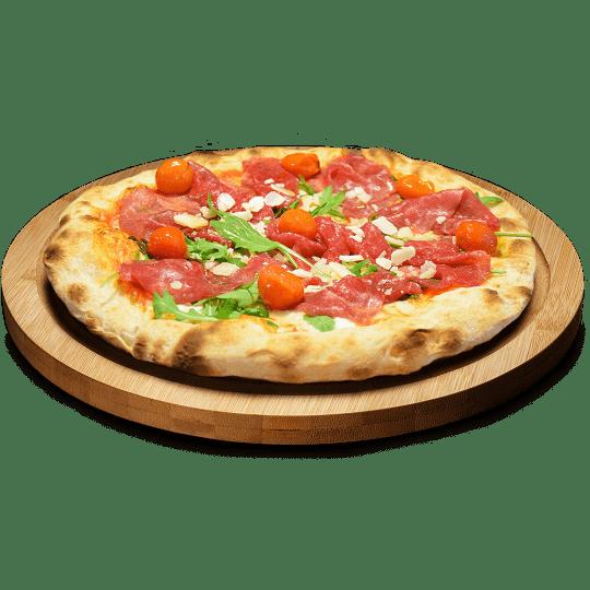 Pizza Carpaccio de Ternera en Lugo