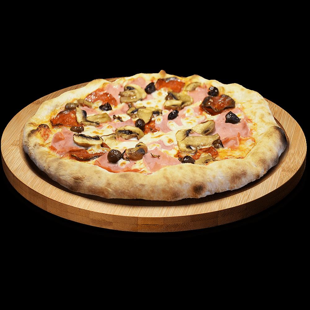 Pizza 4 estaciones en Lugo - Babel