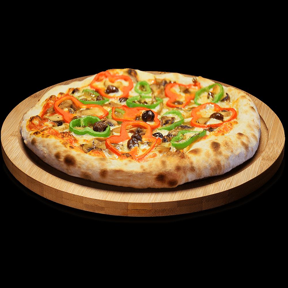 Pizza Vegetal en Lugo